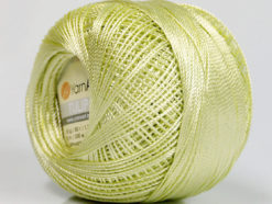 Lot of 6 Skeins YarnArt TULIP (100% MicroFiber) Hand Knitting Yarn Light Green