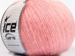 Lot of 8 Skeins Ice Yarns ALPACA SOFTAIR (25% Alpaca 15% Superwash Merino Wool) Yarn Pink