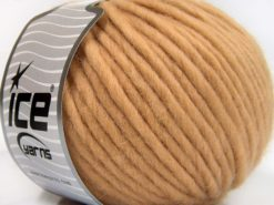 Lot of 4 x 100gr Skeins Ice Yarns PURE WOOL SUPERBULKY (100% Australian Wool) Yarn Cafe Latte