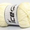 Lot of 4 x 100gr Skeins Ice Yarns BABY COTTON 100GR (100% Giza Cotton) Yarn Lemon Yellow