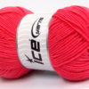 Lot of 4 x 100gr Skeins Ice Yarns BAMBOO SOFT FINE (50% Bamboo) Yarn Candy Pink