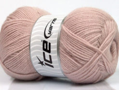 Lot of 4 x 100gr Skeins Ice Yarns SUPER BABY Hand Knitting Yarn Powder
