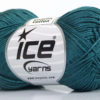 Lot of 6 Skeins Ice Yarns CAMILLA COTTON (100% Mercerized Cotton) Yarn Dark Teal