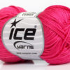 Lot of 6 Skeins Ice Yarns CAMILLA COTTON (100% Mercerized Cotton) Yarn Gipsy Pink