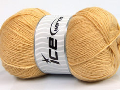 Lot of 4 x 100gr Skeins Ice Yarns MERINO GOLD (60% Merino Wool) Yarn Cafe Latte