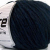Lot of 8 Skeins Ice Yarns WOOL CORD BULKY (50% Wool) Hand Knitting Yarn Navy