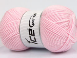 Lot of 4 x 100gr Skeins Ice Yarns BAMBOO SOFT FINE (50% Bamboo) Yarn Light Pink