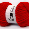 Lot of 4 x 100gr Skeins Ice Yarns CHENILLE BABY (100% MicroFiber) Yarn Red