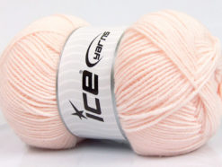 Lot of 4 x 100gr Skeins Ice Yarns BAMBOO SOFT FINE (50% Bamboo) Yarn Light Salmon
