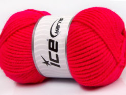 Lot of 4 x 100gr Skeins Ice Yarns CLASSIC CHUNKY Hand Knitting Yarn Gipsy Pink