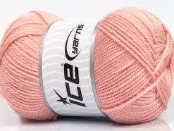 Lot of 4 x 100gr Skeins Ice Yarns DORA Hand Knitting Yarn Powder Pink