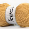 Lot of 4 x 100gr Skeins Ice Yarns Worsted FAVORITE Yarn Cafe Latte