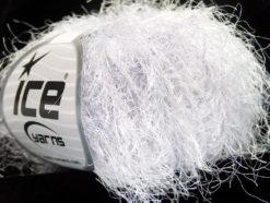 Lot of 8 Skeins Ice Yarns TECHNO BULKY Hand Knitting Yarn Light Lilac White