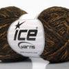 Lot of 8 Skeins Ice Yarns DOPPIO LANA (44% Wool) Yarn Brown Shades