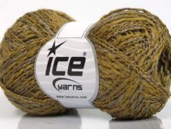 Lot of 8 Skeins Ice Yarns DOPPIO LANA (44% Wool) Hand Knitting Yarn Khaki Camel