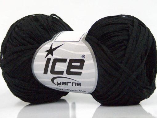 Lot of 8 Skeins Ice Yarns VIOLINO Hand Knitting Yarn Black