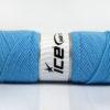 Lot of 4 x 100gr Skeins Ice Yarns BONITO (50% Wool) Yarn Light Blue
