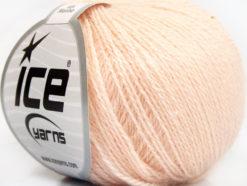 Lot of 6 Skeins Ice Yarns SILK MERINO (35% Silk 65% Merino Wool) Yarn Light Salmon
