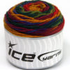 Lot of 3 x 100gr Skeins Ice Yarns CAKES BLUES Yarn Green Shades Purple Gold Red
