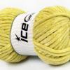 Lot of 4 x 100gr Skeins Ice Yarns CHENILLE BABY (100% MicroFiber) Yarn Apple Green