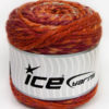 Lot of 2 x 200gr Skeins Ice Yarns CAKES WOOL CHUNKY COLORS (30% Wool) Yarn Copper Orange Orchid Light Blue