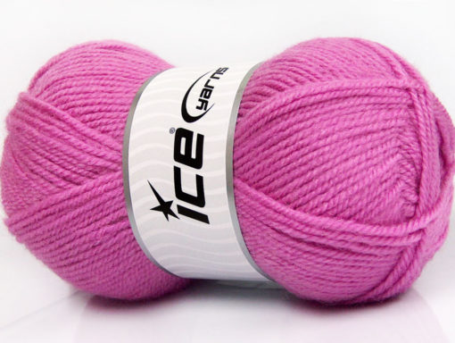 Lot of 4 x 100gr Skeins Ice Yarns FAVOURITE WOOL (50% Wool) Yarn Lavender