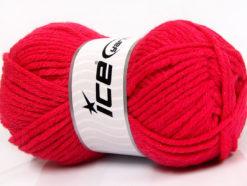 Lot of 4 x 100gr Skeins Ice Yarns WOOL BULKY GLITZ (25% Wool) Yarn Candy Pink