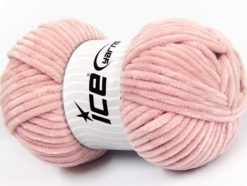 Lot of 4 x 100gr Skeins Ice Yarns CHENILLE BABY (100% MicroFiber) Yarn Rose Pink