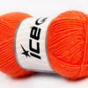 Lot of 8 Skeins Ice Yarns BABY WOOL (40% Wool) Hand Knitting Yarn Orange