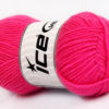 Lot of 8 Skeins Ice Yarns BABY WOOL (40% Wool) Hand Knitting Yarn Candy Pink