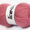 Lot of 4 x 100gr Skeins Ice Yarns FAVOURITE WOOL (50% Wool) Yarn Orchid