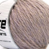 Lot of 3 x 100gr Skeins Ice Yarns SUPERBULKY WOOL (40% Wool) Yarn Lilac Melange