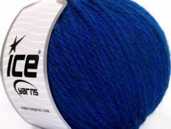 Lot of 3 x 100gr Skeins Ice Yarns SUPERBULKY WOOL (40% Wool) Yarn Blue