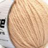 Lot of 3 x 100gr Skeins Ice Yarns SUPERBULKY WOOL (40% Wool) Yarn Cafe Latte