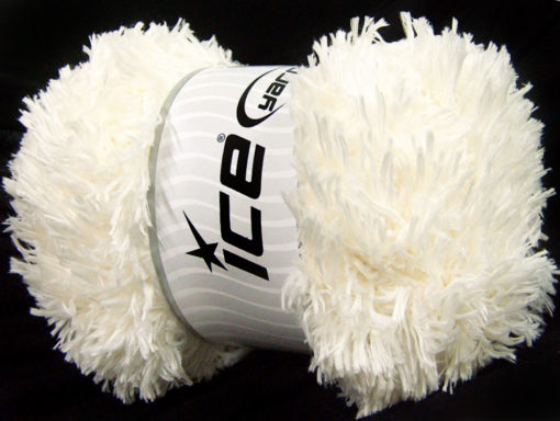 Lot of 2 x 200gr Skeins Ice Yarns LAMBKIN (100% MicroFiber) Yarn Cream