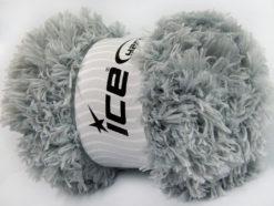 Lot of 2 x 200gr Skeins Ice Yarns LAMBKIN (100% MicroFiber) Yarn Grey