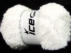 Lot of 4 x 100gr Skeins Ice Yarns PANDA (100% MicroFiber) Yarn White
