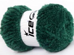 Lot of 4 x 100gr Skeins Ice Yarns PANDA (100% MicroFiber) Yarn Dark Green