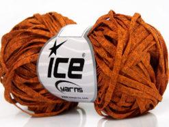 Lot of 8 Skeins Ice Yarns VISCOSE SHINE BULKY (82% Viscose) Yarn Gold Melange