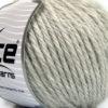 Lot of 3 x 100gr Skeins Ice Yarns SUPERBULKY WOOL (40% Wool) Yarn Light Grey