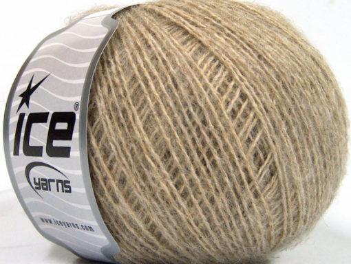 Lot of 8 Skeins Ice Yarns PHILIP ALPACA FINE (15% Alpaca 15% Wool) Yarn Beige