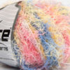 Lot of 8 Skeins Ice Yarns MODENA VISCOSE (40% Viscose 30% Wool) Yarn Pink Yellow Blue Salmon