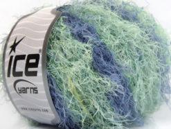 Lot of 8 Skeins Ice Yarns MODENA VISCOSE (40% Viscose 30% Wool) Yarn Lilac Mint Green