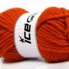 Lot of 4 x 100gr Skeins Ice Yarns ATLAS SUPERBULKY Hand Knitting Yarn Orange