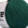 Lot of 8 Skeins Ice Yarns WOOL CORD SPORT (50% Wool) Yarn Dark Green