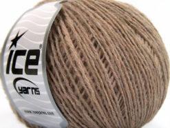 Lot of 8 Skeins Ice Yarns RONDO WOOL (40% Wool) Yarn Camel Melange