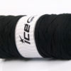 250 gr ICE YARNS JUMBO COTTON RIBBON (100% Recycled Cotton) Yarn Black