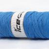 250 gr ICE YARNS JUMBO COTTON RIBBON (100% Recycled Cotton) Yarn Light Blue