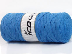 250 gr ICE YARNS JUMBO COTTON RIBBON (100% Recycled Cotton) Yarn Light Blue