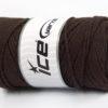 250 gr ICE YARNS MACRAME COTTON BULKY (100% Cotton) Yarn Dark Brown